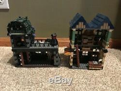10217 Lego Harry Potter Diagon Alley Complete Box Minifigures Gringotts 2011