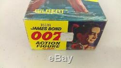 1965 Gilbert James Bond 007 Spy Action Figure With Accessories Complete MIB