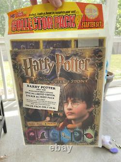 2001 Harry Potter Panini Philosopher's stone-Album W Complete sticker Set Sealed