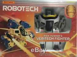 Bandai Macross VF-1S Hikaru Super Valkyrie Hi-Compact Robotech Complete US ver