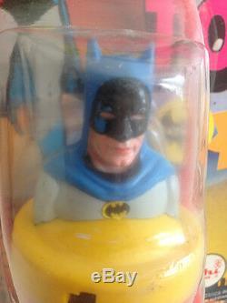 Batman Super Top DC Comics Ahi Toys Complete Rare Vintage 60s Batmania