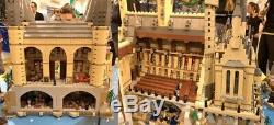 Brand New Harry Potter Hogwarts Castle (71043) Complete Compatible Set