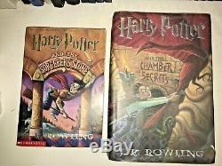 COMPLETE 1st Edition Harry Potter Set 1-7 HB & 2 Bonus -ULTIMATE LOT of 9