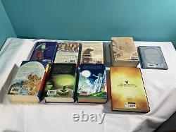 COMPLETE HARRY POTTER Hardback Full Book Set Including 4 1st Editions + Extras