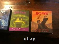 Complete Box Set Of Harry Potter Audio Book Cds Books 1-7 Performed By Jim Dale