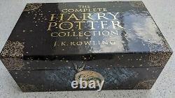 Complete Harry Potter Collection Adult Paperback Boxed Set Adult Edition Cover