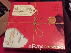 Complete Harry Potter Signature Collection Book Set Bloomsbury Boxed Paperback
