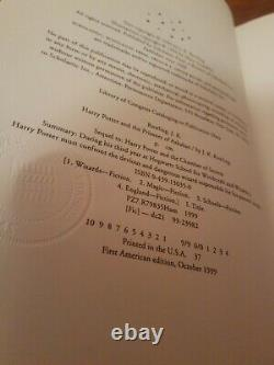 Complete Set of 7 HARRY POTTER Hardcover Books Lot American First Edition