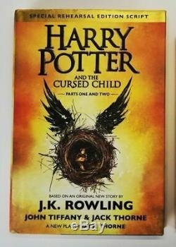 Complete Set of 7 HARRY POTTER Hardcover Books Lot J. K. ROWLING + 1 Bonus Book