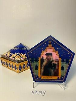 Complete Set of Rare Harry Potter Exhibition Chocolate Frog cards