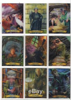 Complete Super Rare Harry Potter Chocolate Frog Cards Read Description
