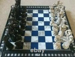 DeAgostini Harry Potter 64 Piece Chess Set with 2 boards complete rare + extras