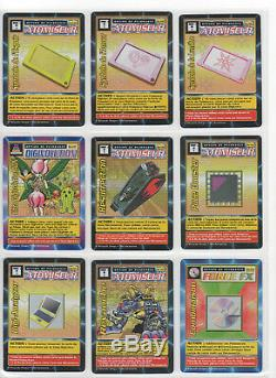 Digimon Digi-Battle Card Game French Booster Series 3 Near Complete Set NM+