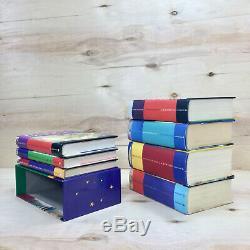 HARRY POTTER 1-7 Complete Hardcover Books Set. Bloomsbury & Raincoast Boxset