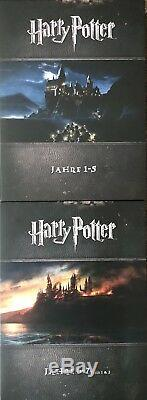 HARRY POTTER Blu Ray, COMPLETE BOX, ALL 8 Movies + PHANTASTIC BEASTS, NEW