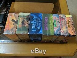 HARRY POTTER CD audio books complete set Lot Of 7 Unabridged 5 are NewithSealed