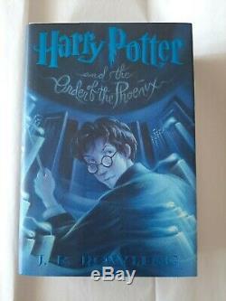 HARRY POTTER COMPLETE HARDCOVER SET BOOKS 1-7 + Fantastic Beasts & Cursed Child