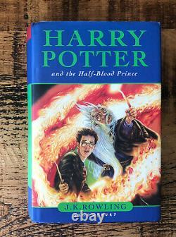 HARRY POTTER COMPLETE UK BLOOMSBURY FIRST EDs HARDBACK BOOK SET EARLY PRINTS