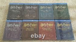 HARRY POTTER Complete EMBOSSED Steelbook Collection 16-disc Blu-ray all 8 movies