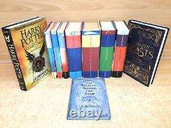 HARRY POTTER Complete Set of 7 books 3 1st Edition Hardbacks Bloomsbury bundle