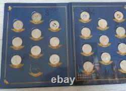 HARRY POTTER Mini Médailles Monnaie de Paris 2021 ALBUM COMPLET