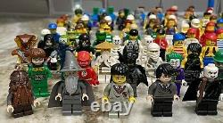 HUGE Lot of 140 LEGO Minifigures 100% Authentic and Complete