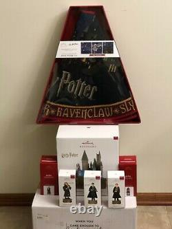 Hallmark Harry Potter Hogwarts Castle Tree Topper Collection Complete Bonus