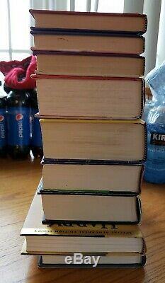 Harry Potter 1-7 Complete Hardcover Set Bloomsbury Raincoast Cursed Child FB