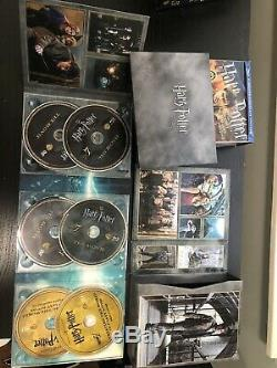 Harry Potter 1-7 Ultimate Edition Full Complete Blu-ray Set Very Rare