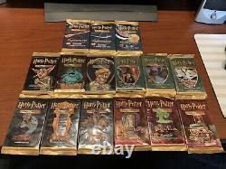 Harry Potter ALL Sealed 5 COMPLETED Art Sets (15) Packs