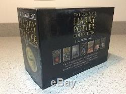 Harry Potter Adult Hardback Book Complete Boxed Set JK Rowling 2007 OUT OF PRINT