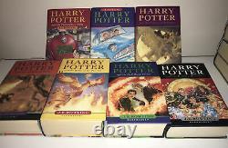 Harry Potter Book Set Bloomsbury ALL HARDBACK First Edition Complete Set 1-7