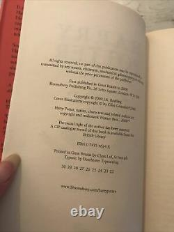 Harry Potter Book Set Bloomsbury ALL HARDBACK First Edition Early Complete 1-7