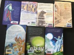 Harry Potter Book Set Bloomsbury ALL HARDBACK UK First Edition Complete 1-7 VGC