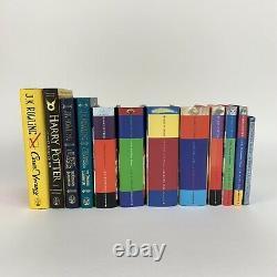 Harry Potter Book Set Bloomsbury Hardbacks UK First Edition Complete Works VGC