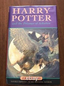 Harry Potter Book UK Edition First Edition First Printing 1/1 Complete Set
