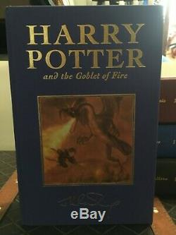 Harry Potter Books Bloomsbury UK Limited Hardcover Complete Set