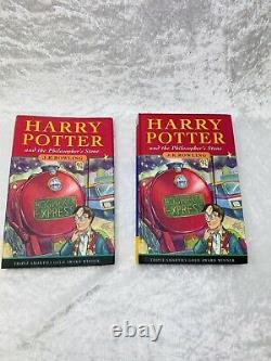 Harry Potter Books Complete 1-7 Hardback set inc Bloomsbury First Editions