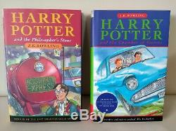 Harry Potter Books Complete Set Collection Hardback J. K Rowling 1st Editions