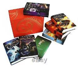 Harry Potter Children's Hardback Box Set, 2014, The Complete Coll, All 7 Novels