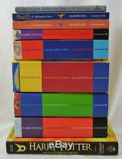 Harry Potter Complete 1-9 Book Full Set Collection Lot J K Rowling Books JK
