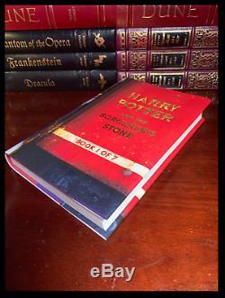 Harry Potter Complete 7 Volume Custom Gift Hardbacks Set New Hogwarts Express