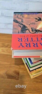 Harry Potter Complete 8 Book Set Bloomsbury Raincoast JK Rowling HC DJ 12345678