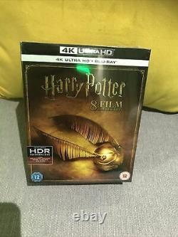 Harry Potter Complete 8-Film Collection (4K UHD Blu-ray, 2018, 16-Disc Set) NEW