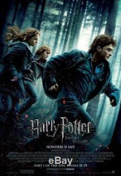 Harry Potter Complete 8-Film Collection 4K UHD Blu-ray Box Set, Region Free