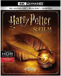 Harry Potter Complete 8-Film Collection 4K Ultra HD 2017 Region Free Blu-ray