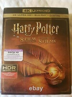 Harry Potter Complete 8-Film Collection (4K Ultra HD, Canadian) with DIGITAL