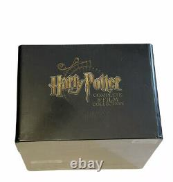 Harry Potter Complete 8-Film Collection SteelBook Blu-Ray Region 1/A Perfect
