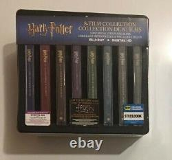 Harry Potter Complete 8-Film SteelBook Collection (Blu-ray) Brand New Sealed
