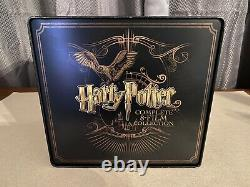 Harry Potter Complete 8-Film SteelBook Collection Blu-ray, Region A, 16-Disc
